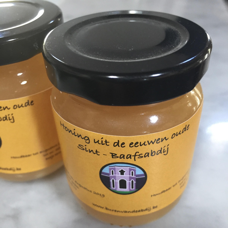 Het eindproduct: honing van de Sint-Baafsabdij